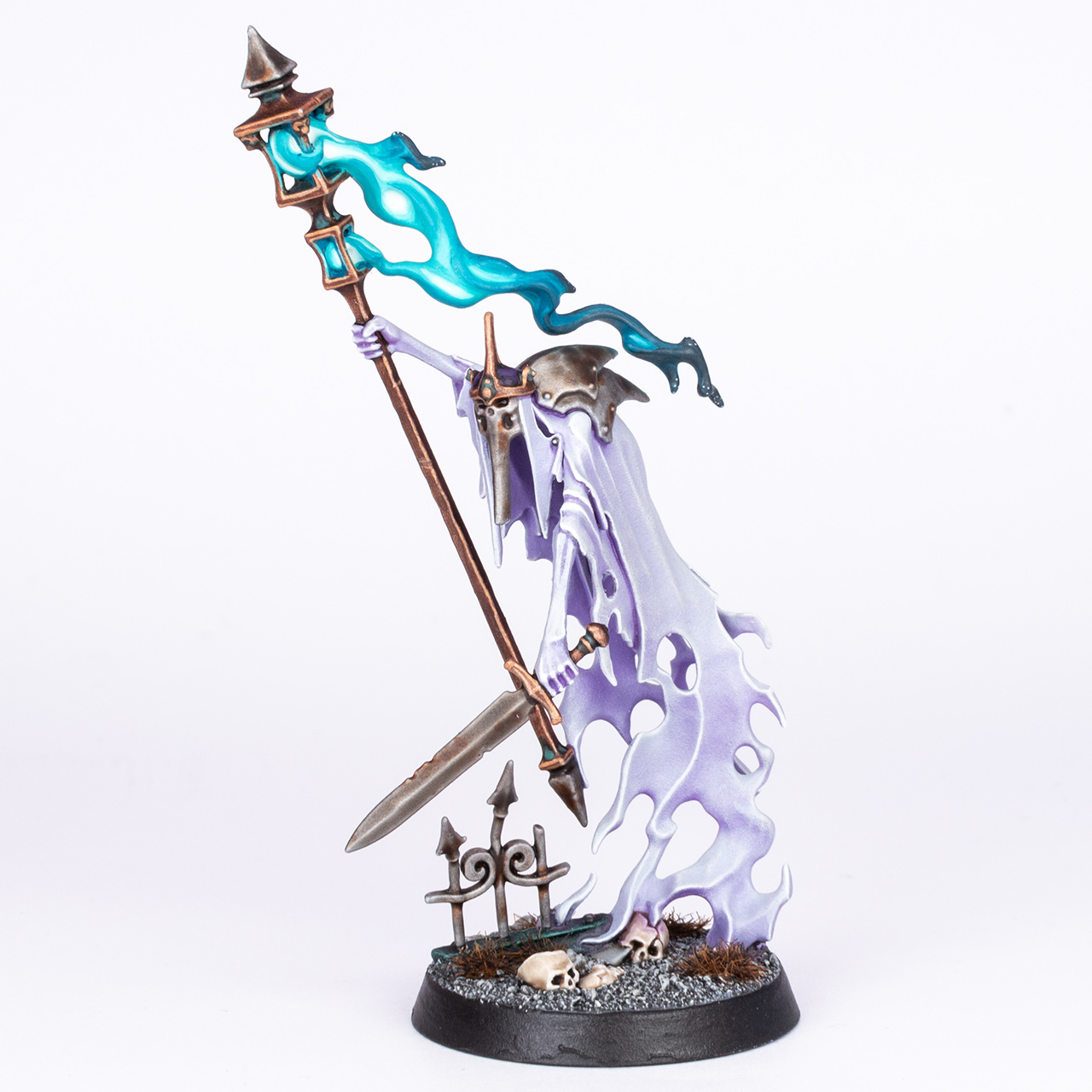 Nighthaunt Guardian of Souls painted by Stahly