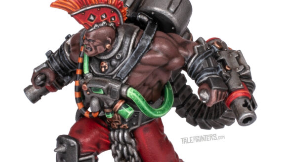 Tutorial: How to paint toxic green liquid hoses (featured image)