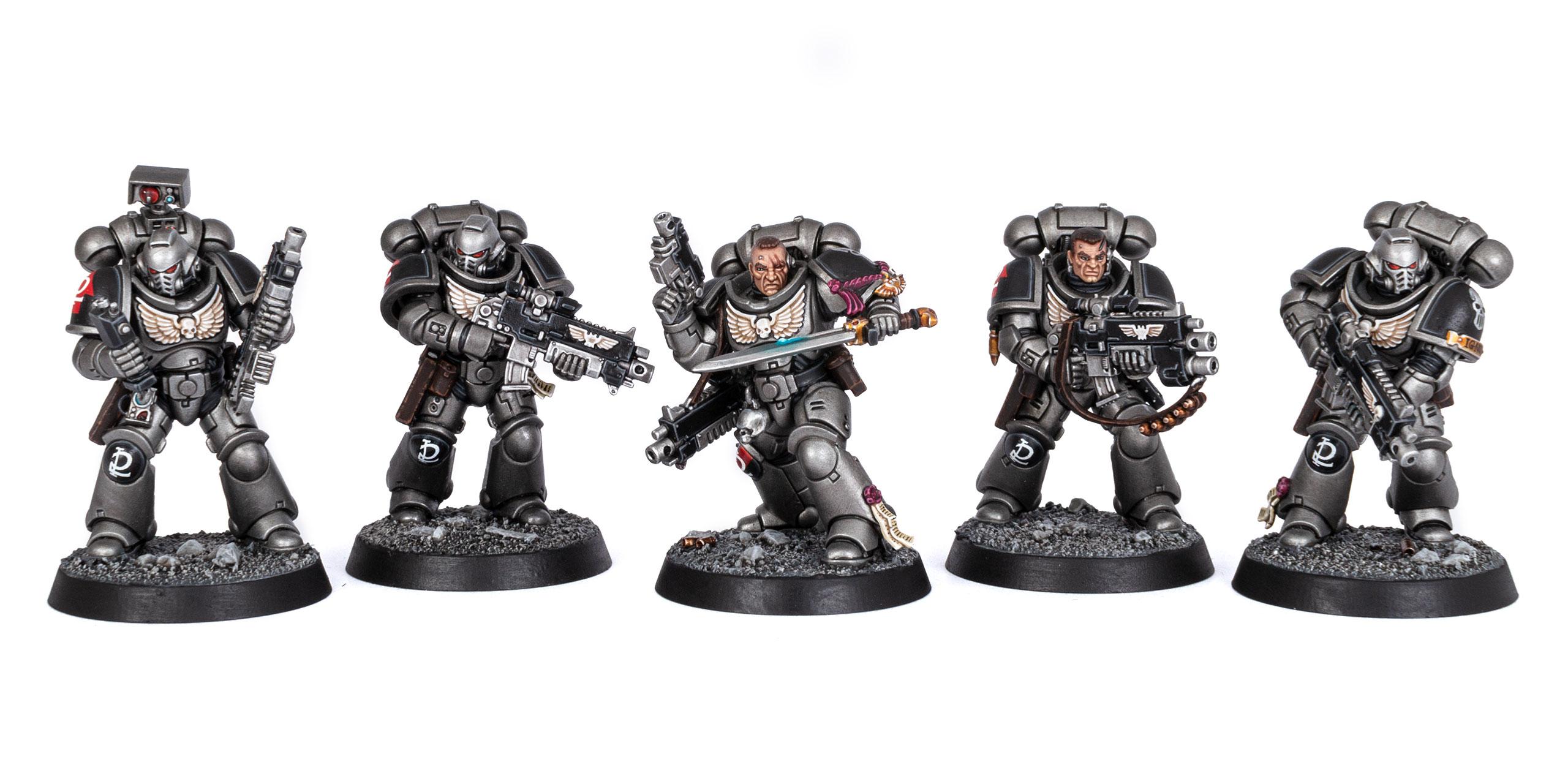 Five Silver Skulls Intercessors