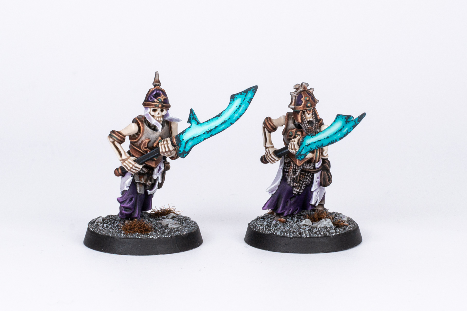 Age of Sigmar Grave Guard with Great Wight Blades front