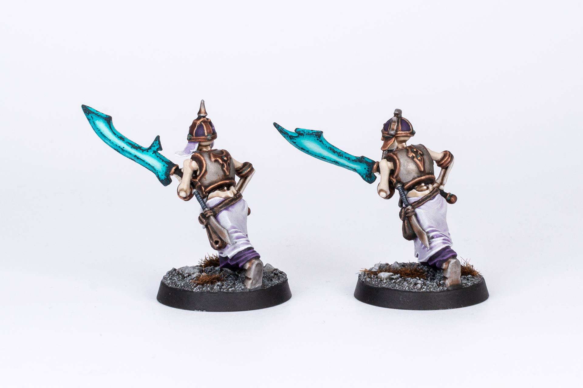 Age of Sigmar Grave Guard with Great Wight Blades back
