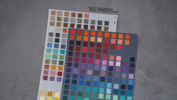 ToP Tip: Hand-painted colour swatches featured image