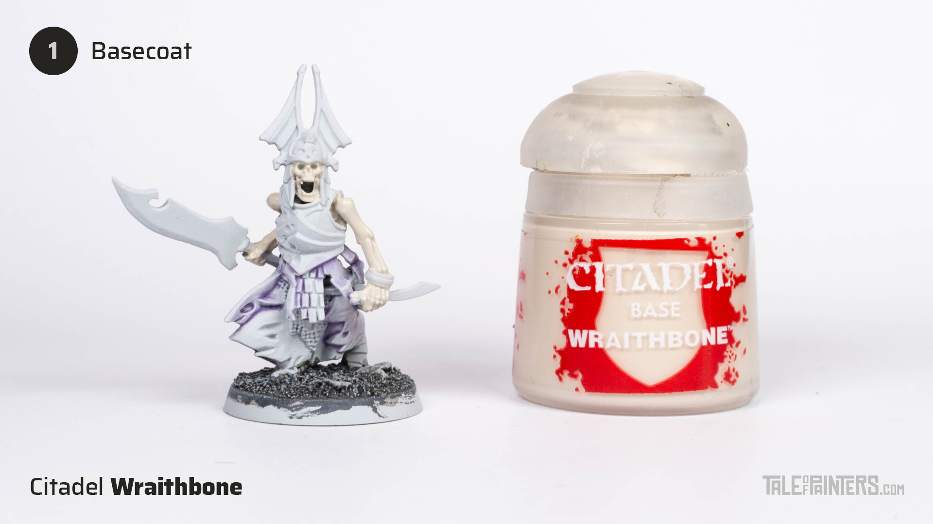 Tutorial: How to paint bone - step 1