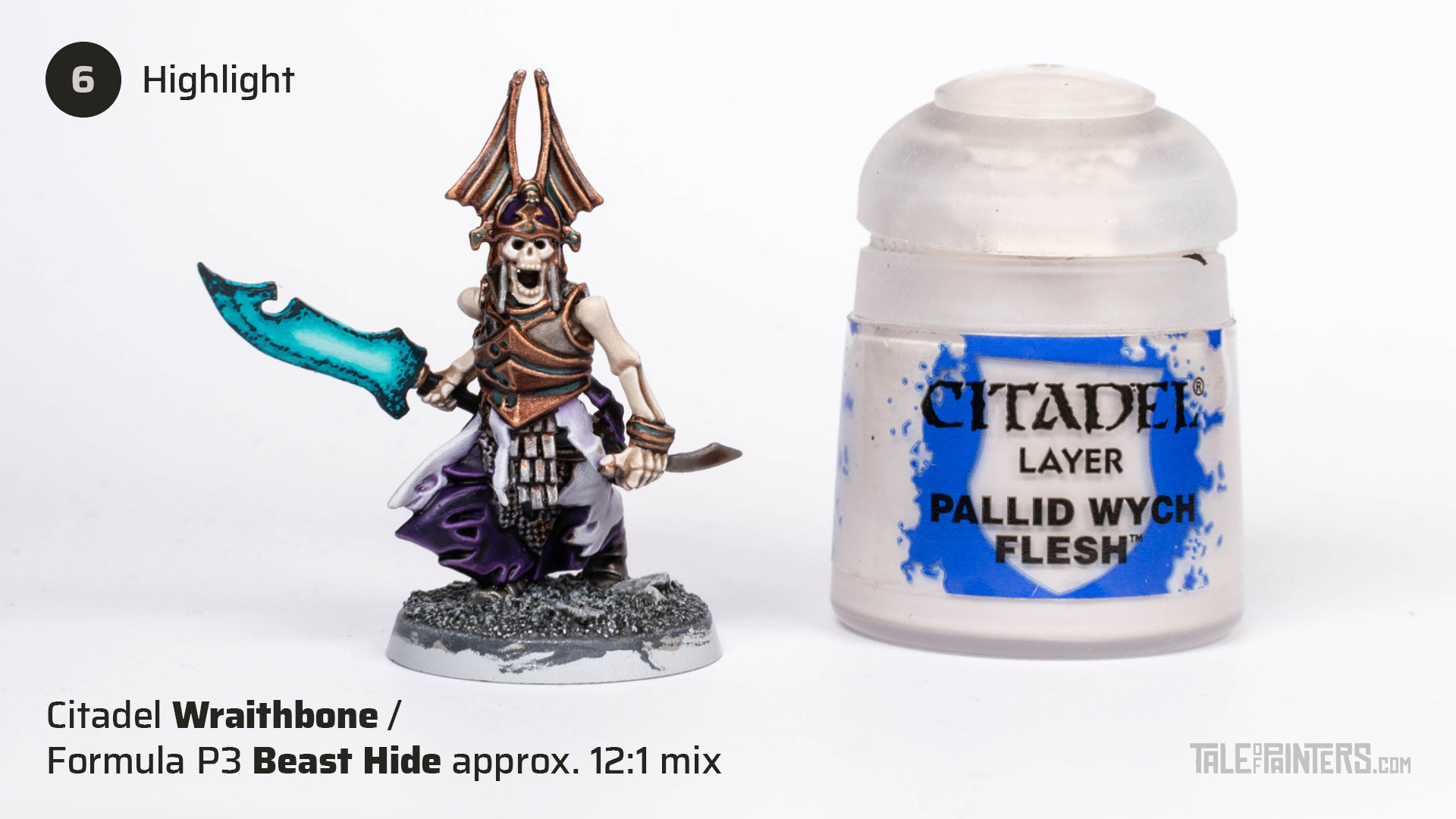 Tutorial: How to paint bone - step 6