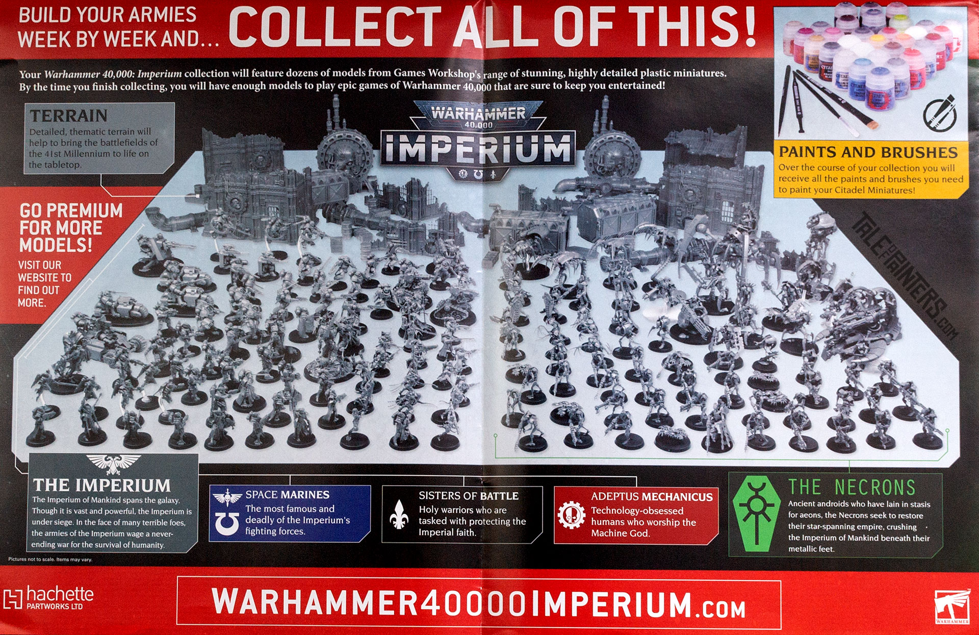Warhammer 40.000: Imperium Collection Overview