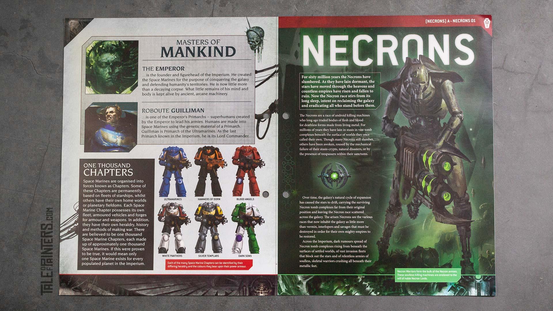Lore Content in Warhammer 40.000: Imperium Magazine