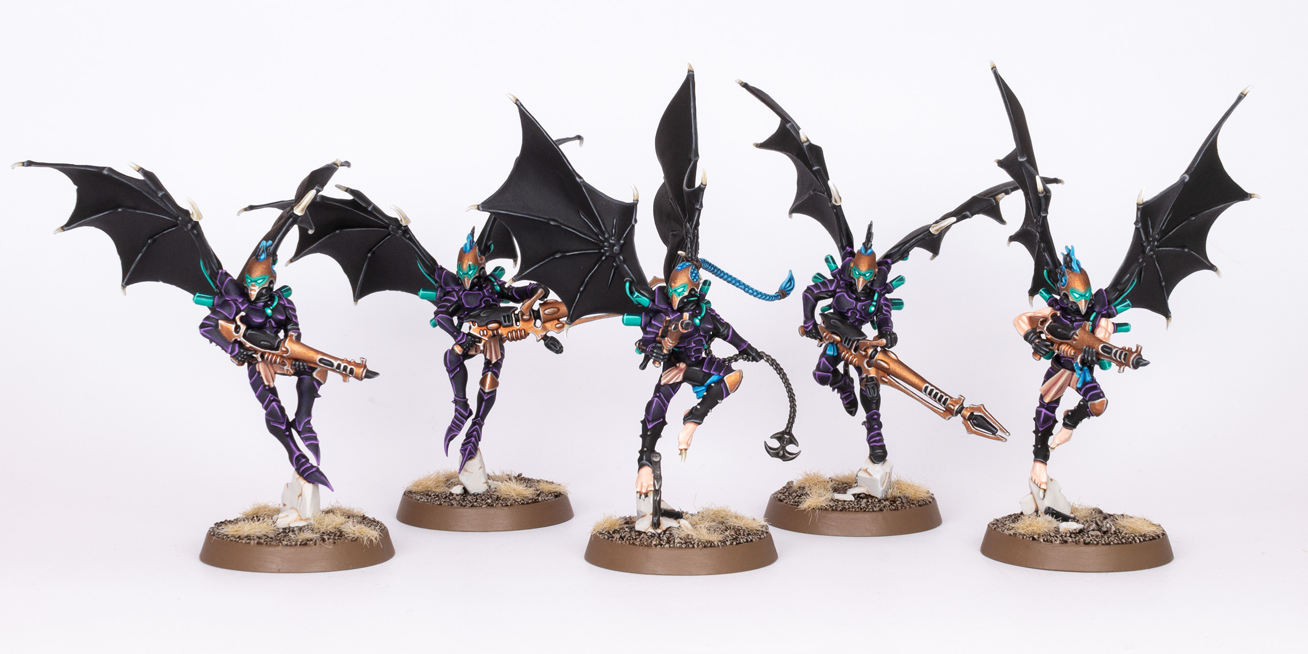 Drukhari Scourges from the Kabal of the Last Hatred