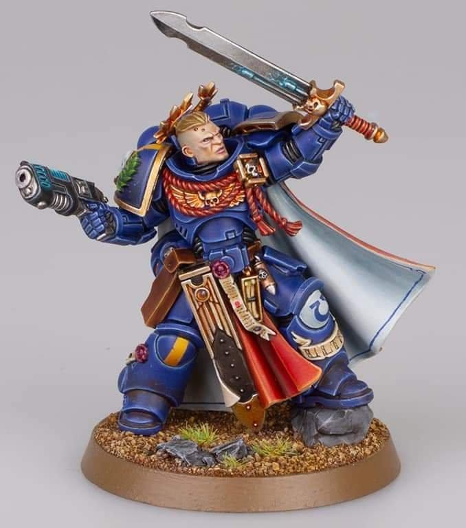 Exclusive Primaris Captain from Warhammer 40.000: Imperium