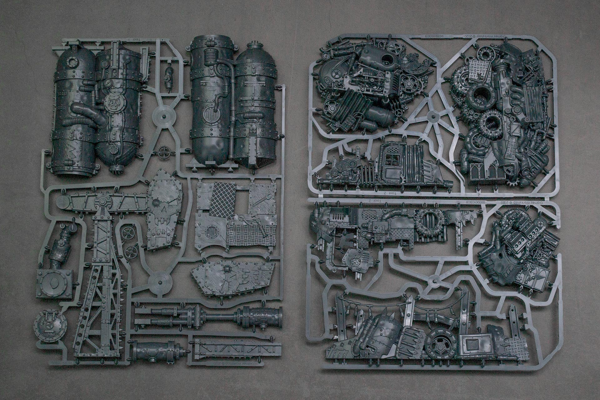 Ork Scrap Town Building Sprues