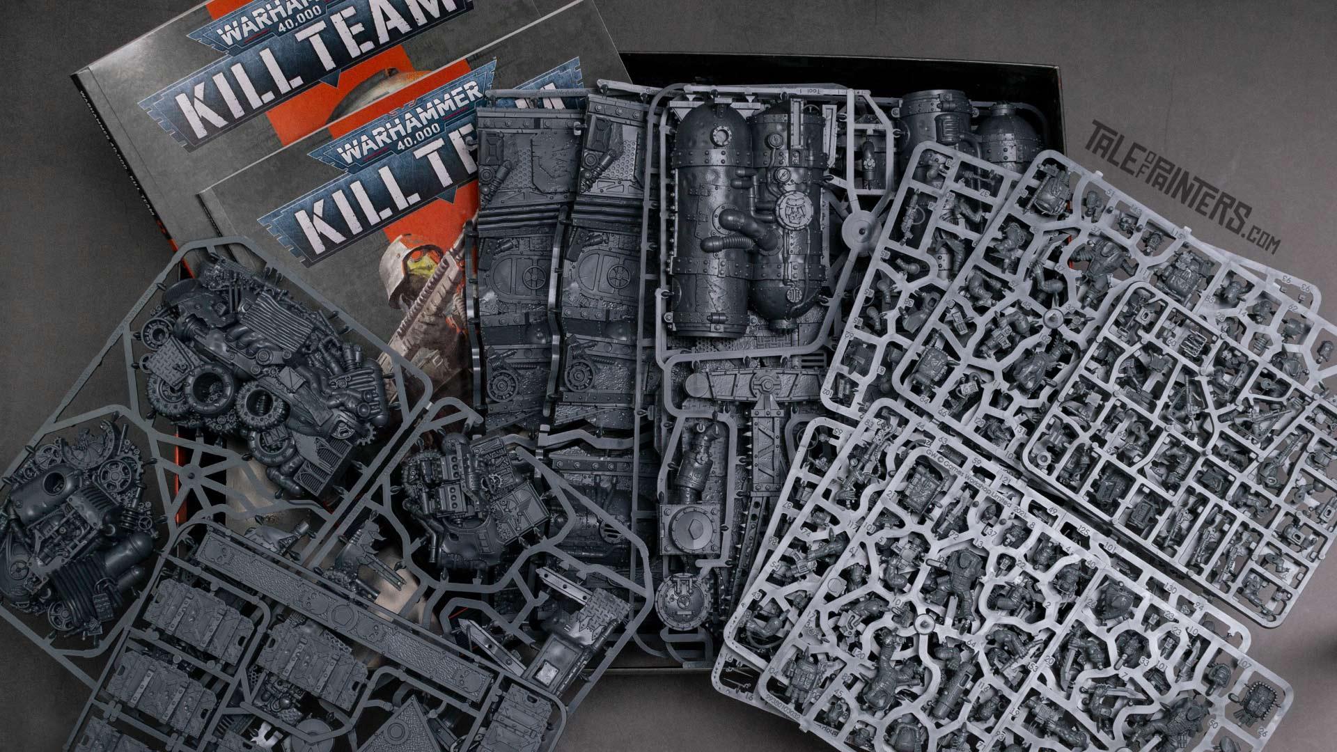Kill Team: Octarius box opened