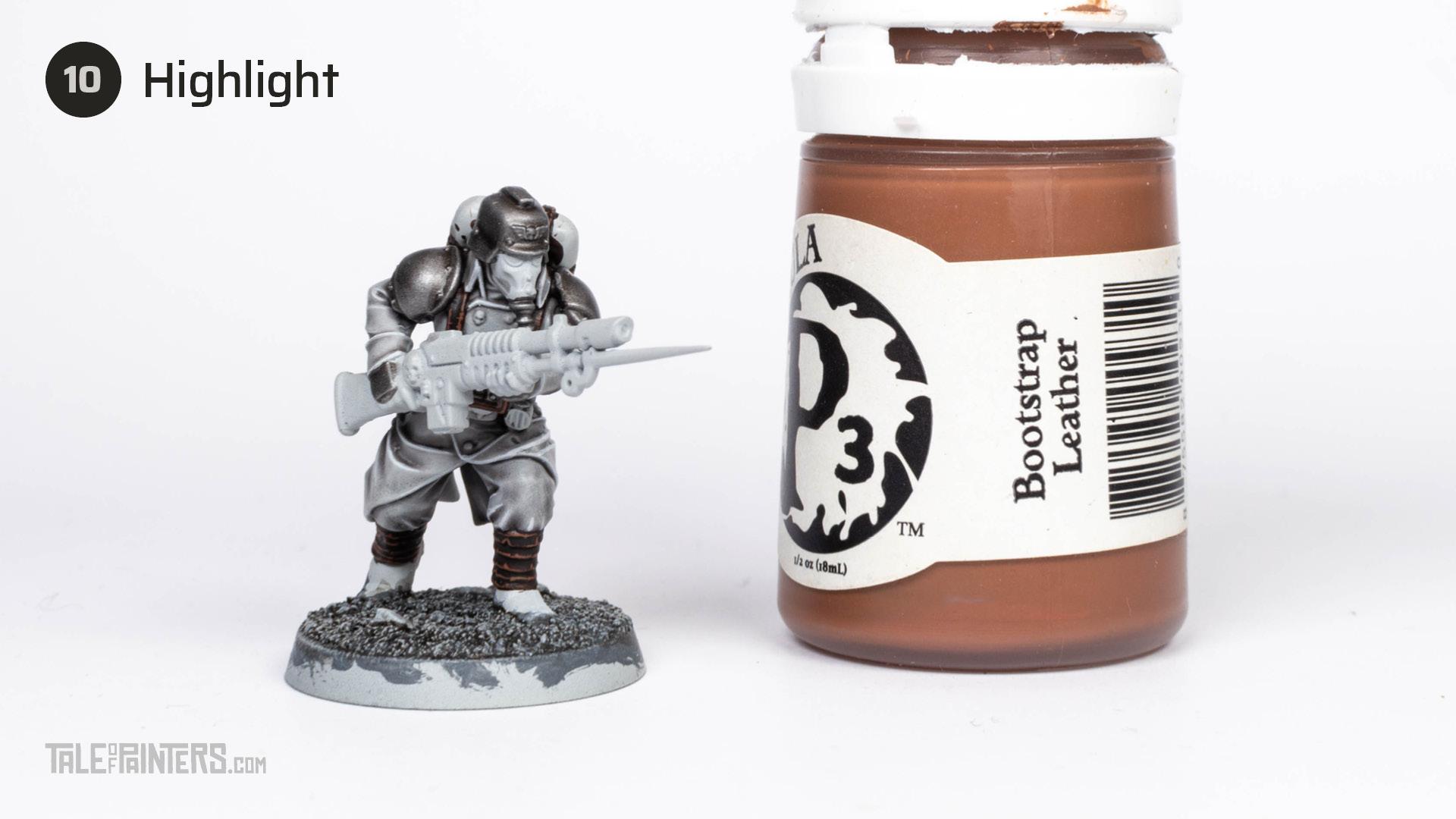 Tutorial: How to paint Death Korps of Krieg step 10