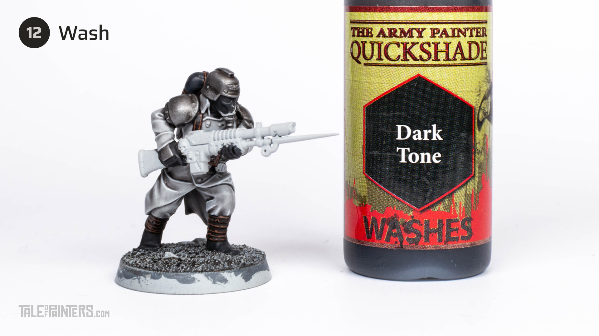 Tutorial: How to paint Death Korps of Krieg step 12