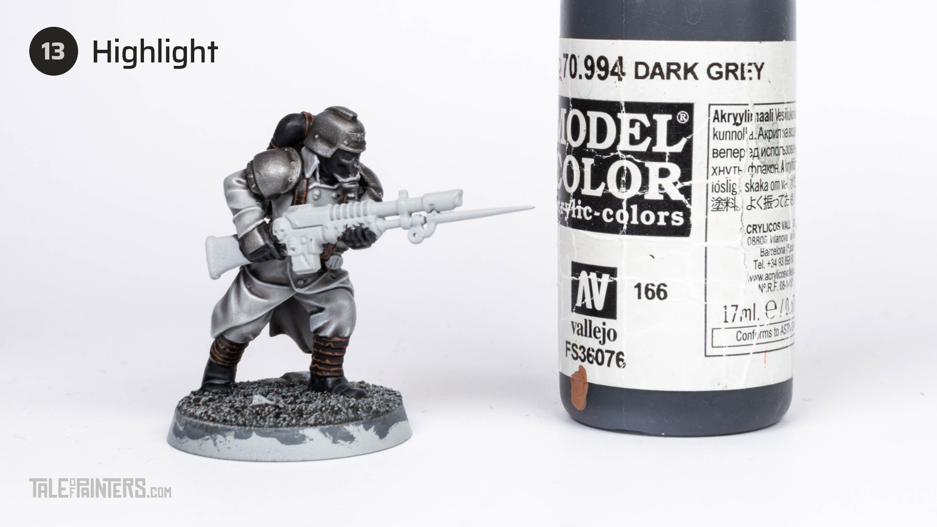 Tutorial: How to paint Death Korps of Krieg step 13