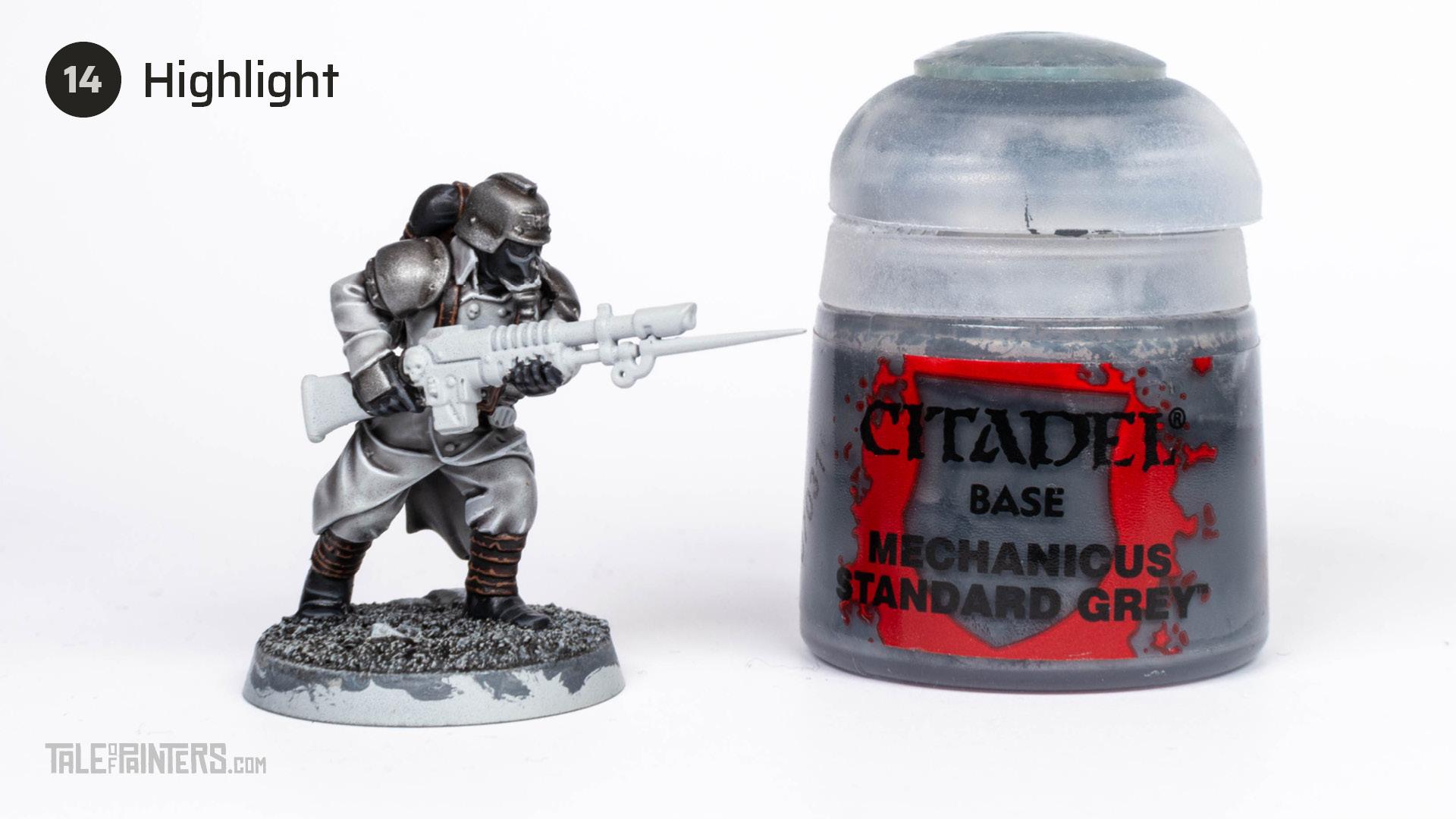 Tutorial: How to paint Death Korps of Krieg step 14