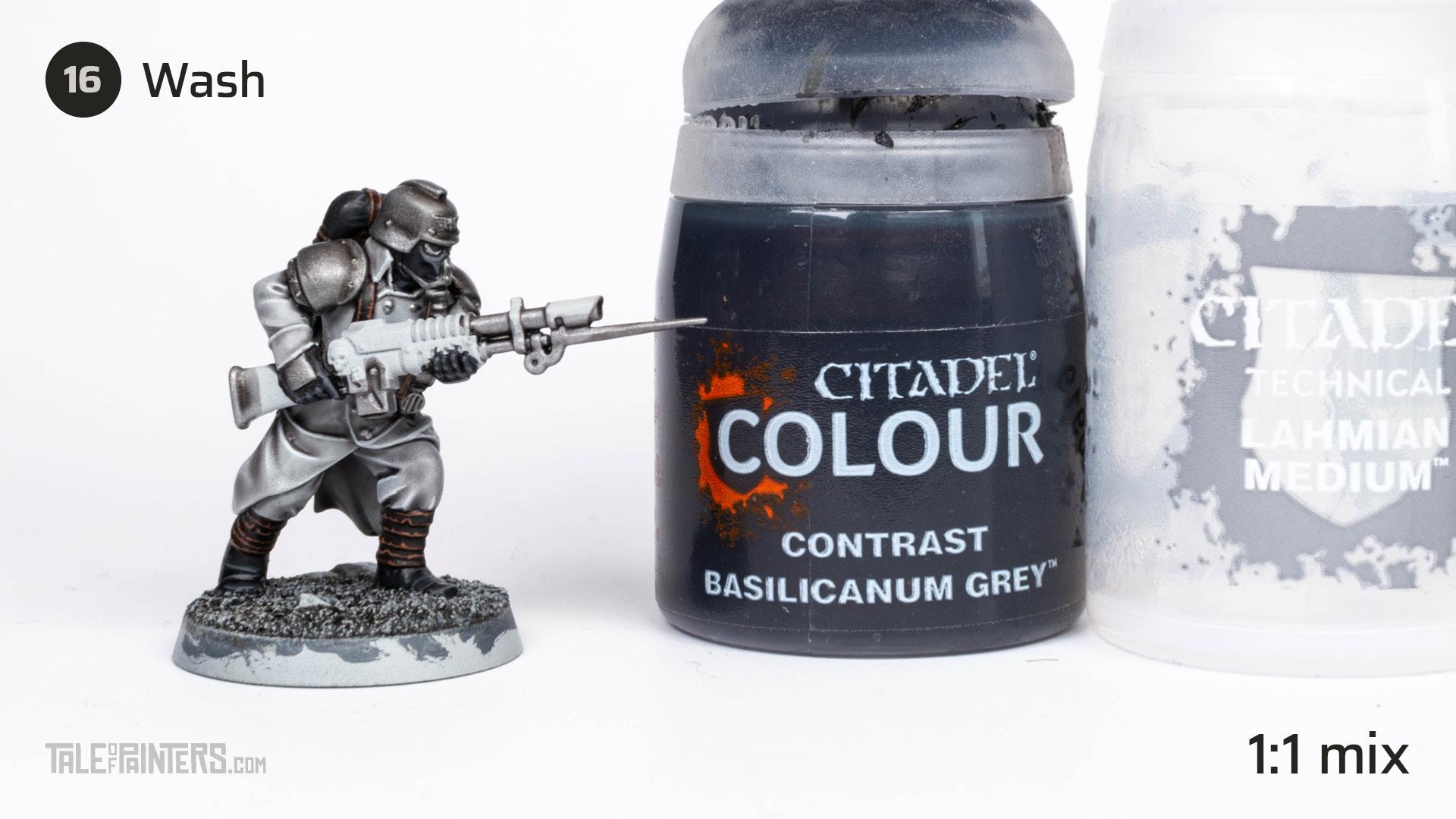 Tutorial: How to paint Death Korps of Krieg step 16