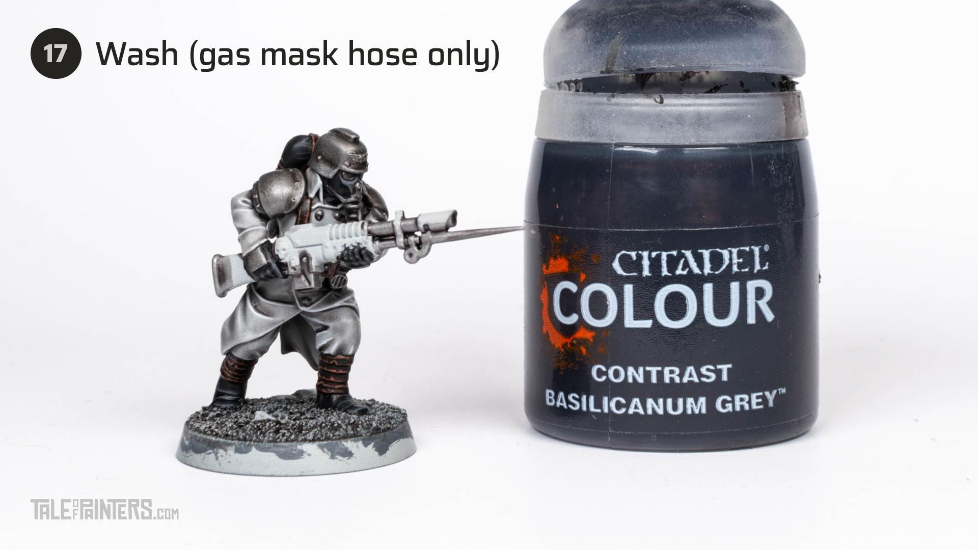 Tutorial: How to paint Death Korps of Krieg step 17
