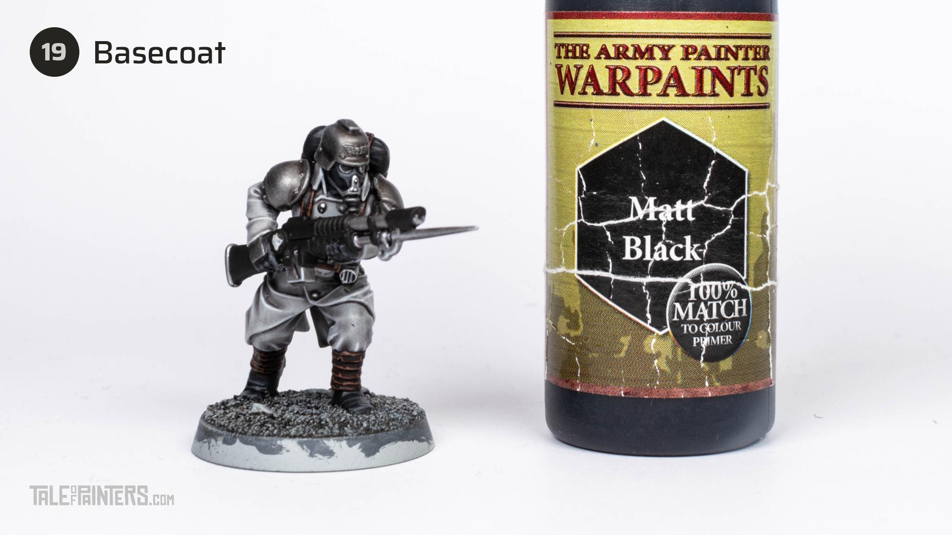 Tutorial: How to paint Death Korps of Krieg step 19