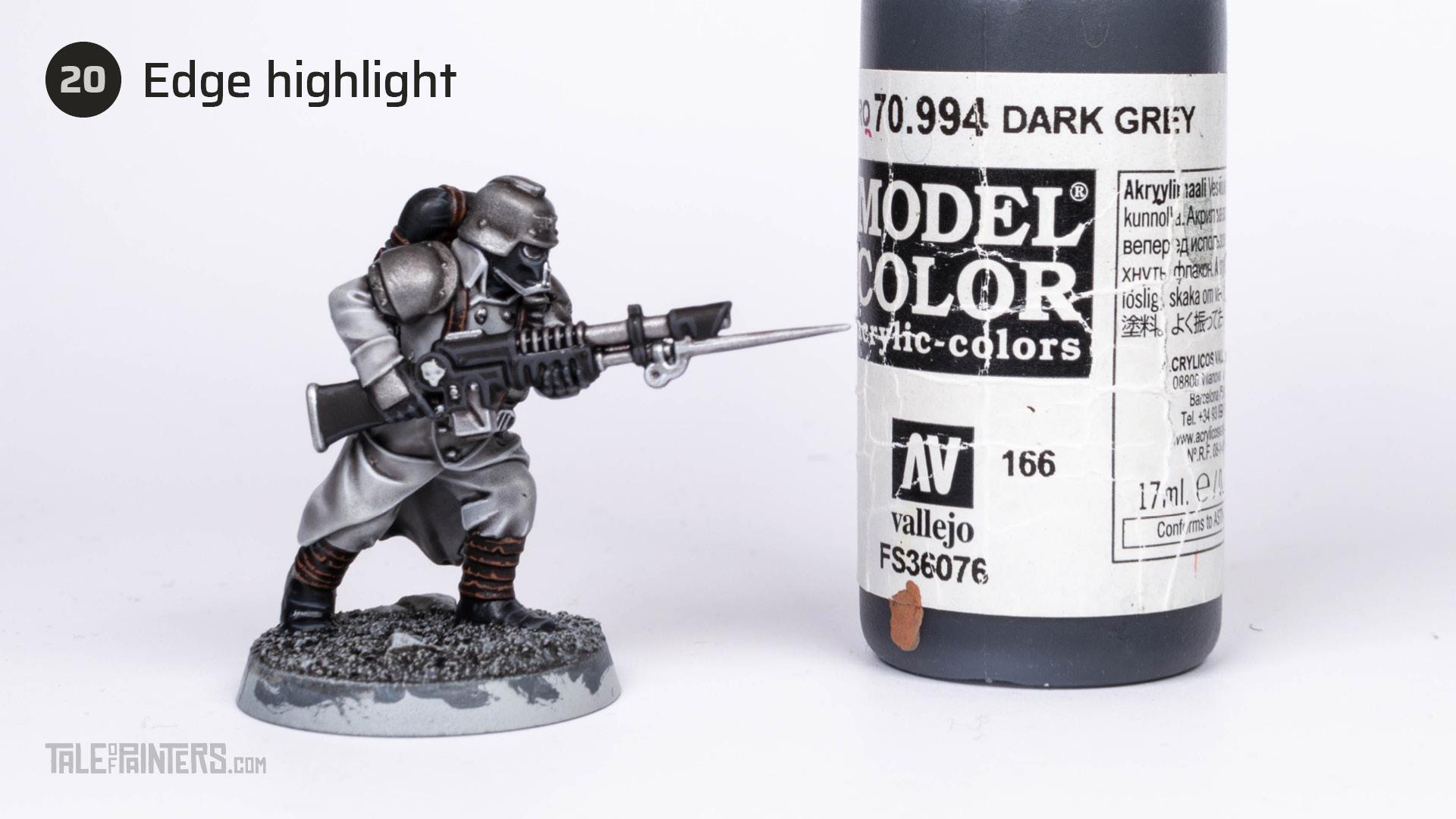 Tutorial: How to paint Death Korps of Krieg step 20