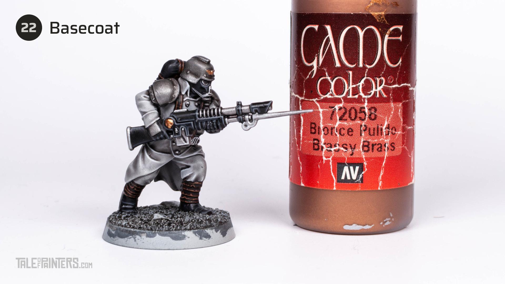 Tutorial: How to paint Death Korps of Krieg step 22