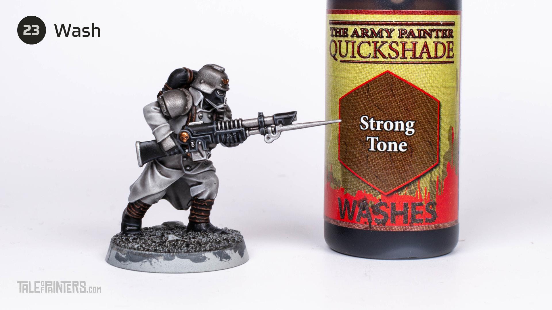 Tutorial: How to paint Death Korps of Krieg step 23