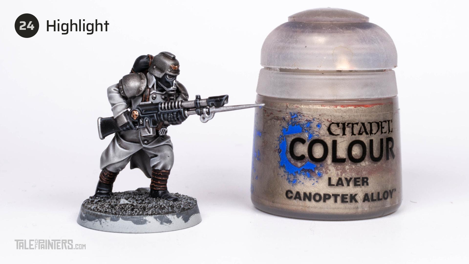 Tutorial: How to paint Death Korps of Krieg step 24