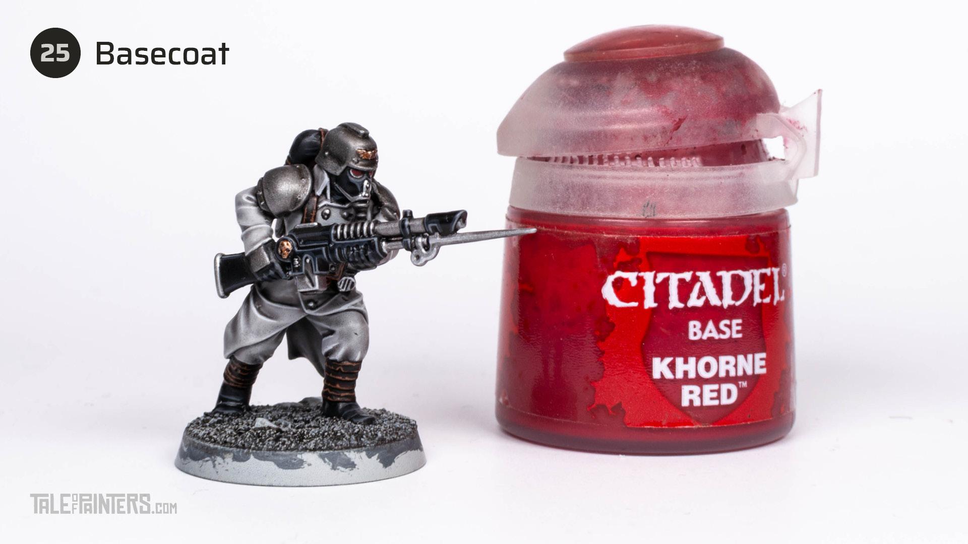 Tutorial: How to paint Death Korps of Krieg step 25