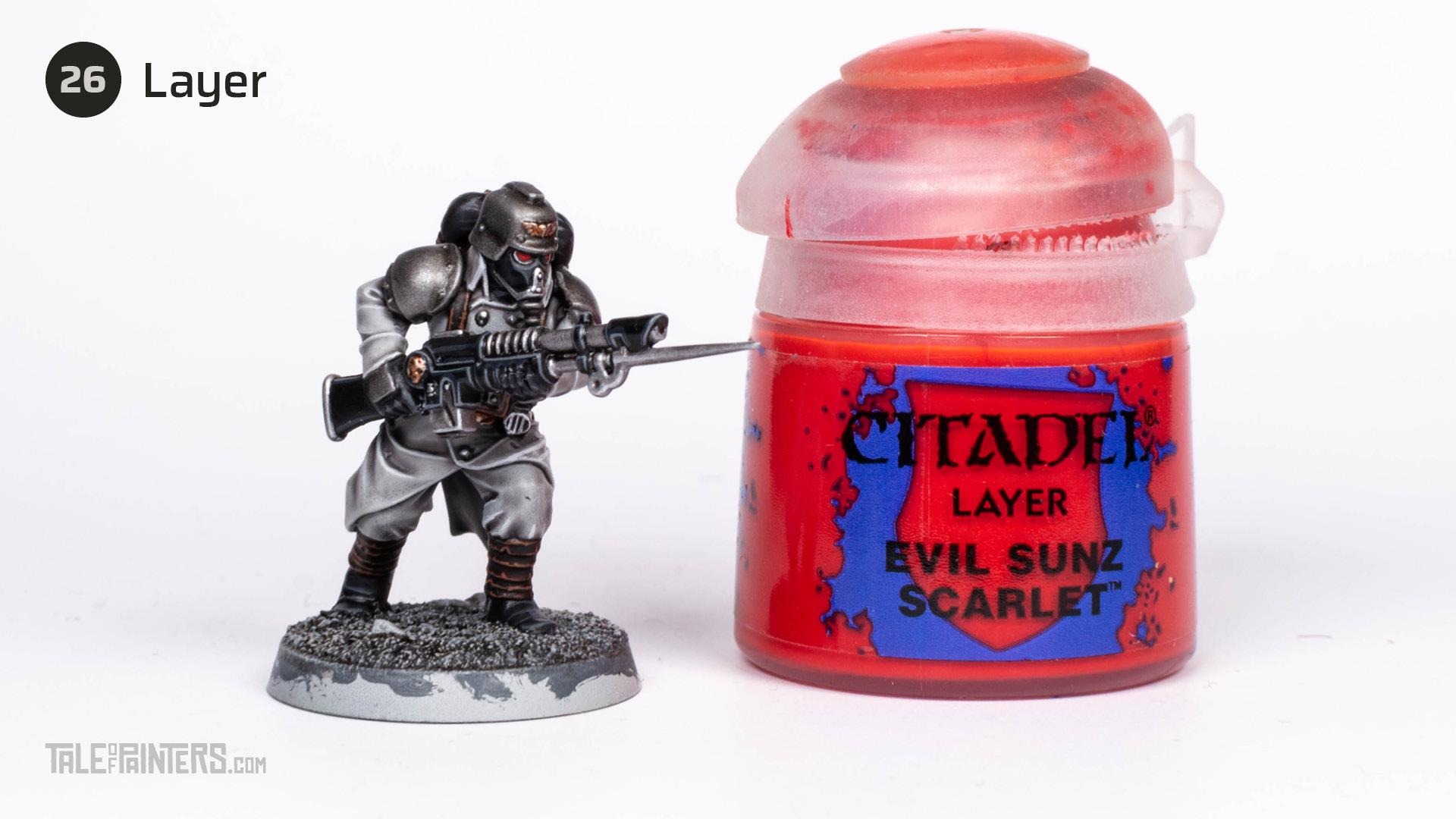 Tutorial: How to paint Death Korps of Krieg step 26