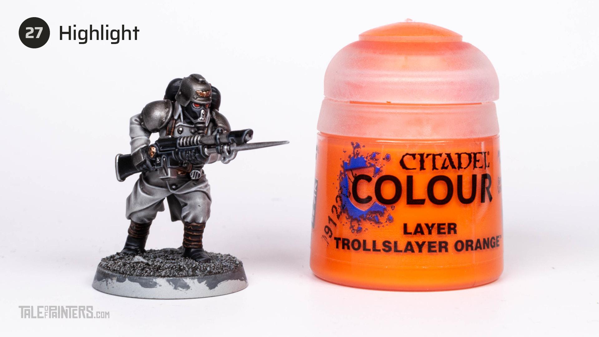Tutorial: How to paint Death Korps of Krieg step 27