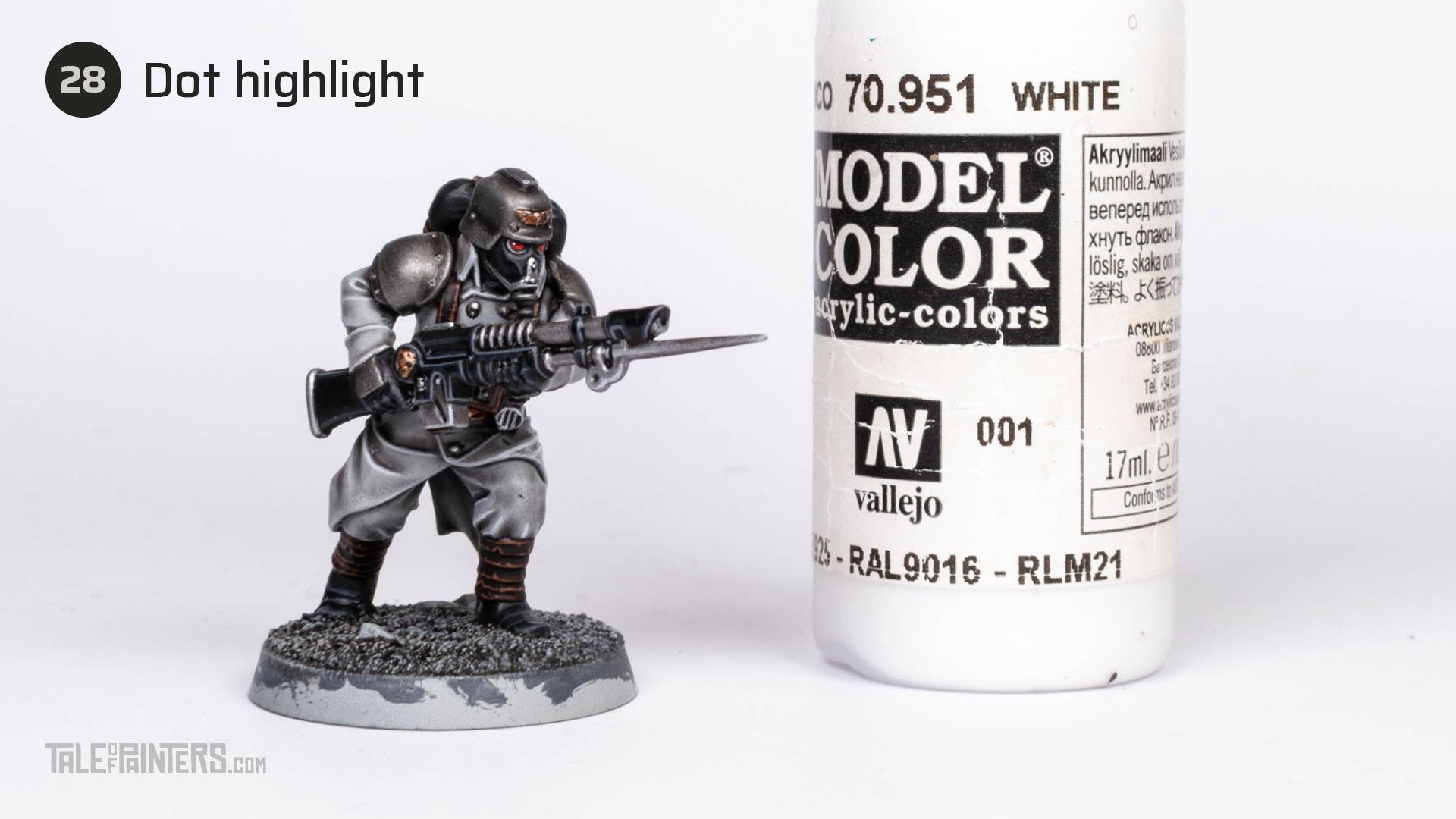 Tutorial: How to paint Death Korps of Krieg step 28