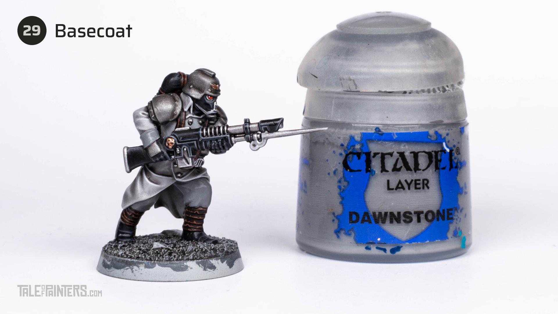 Tutorial: How to paint Death Korps of Krieg step 29