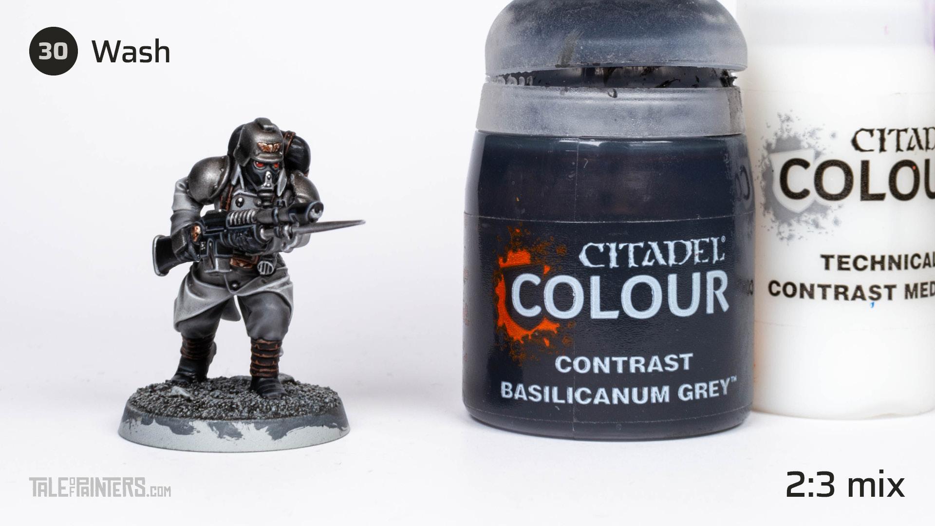 Tutorial: How to paint Death Korps of Krieg step 30