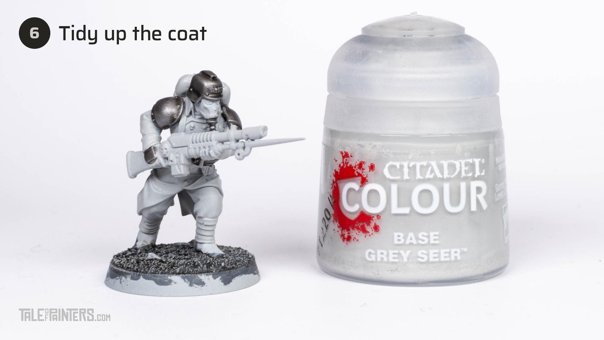 Tutorial: How to paint Death Korps of Krieg step 6