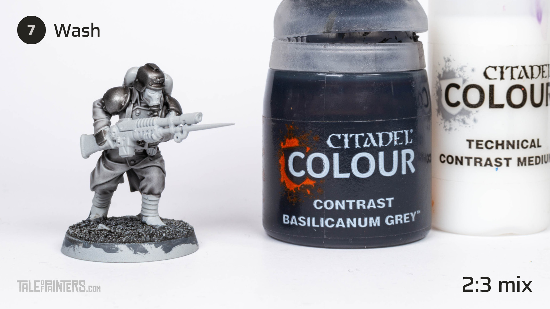 Tutorial: How to paint Death Korps of Krieg step 7