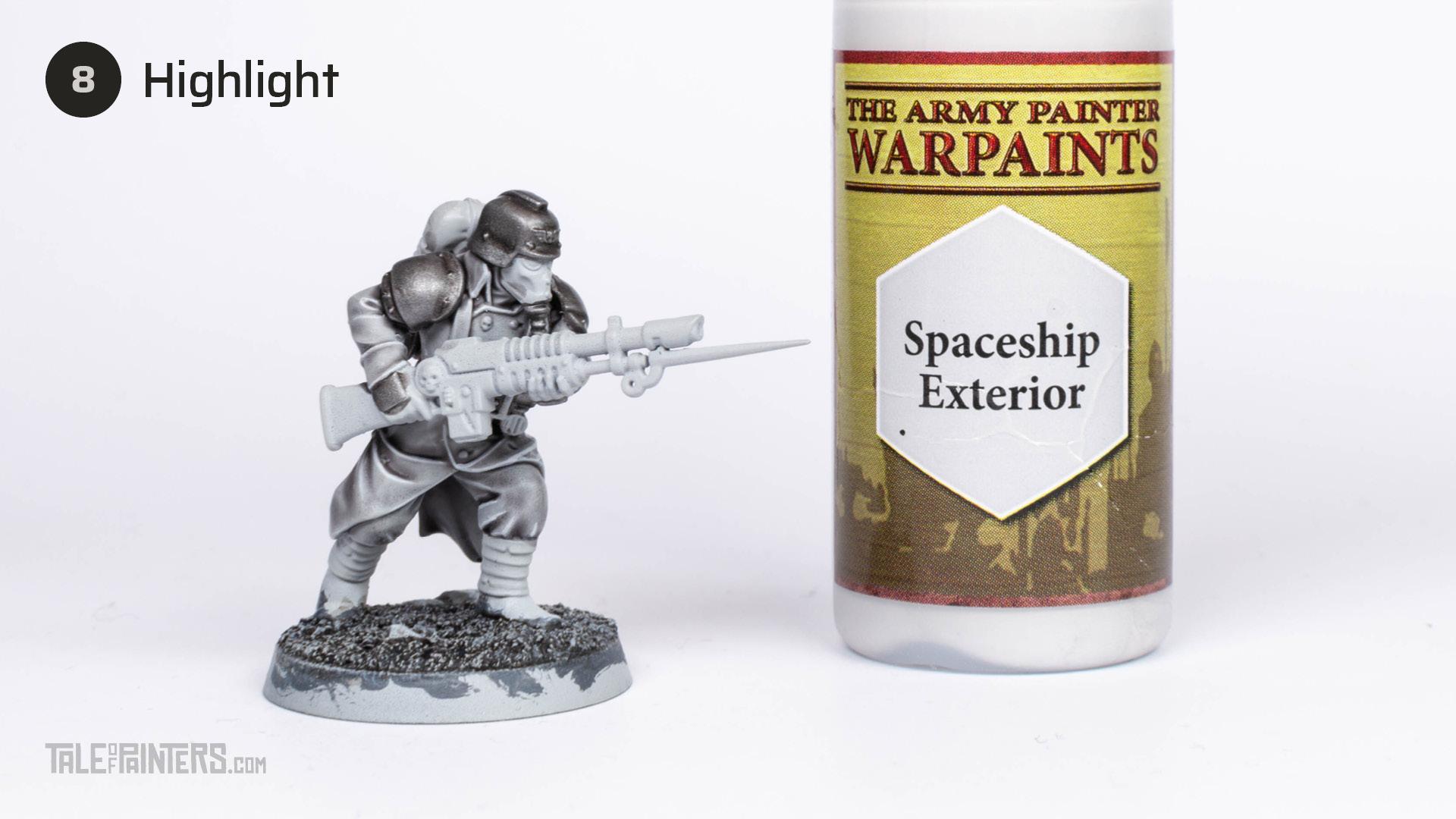 Tutorial: How to paint Death Korps of Krieg step 8