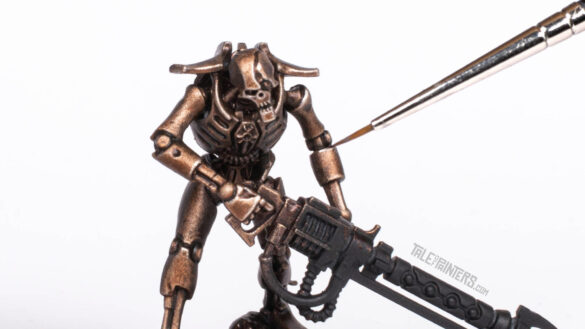 Tutorial: How to paint Necrons Szarekhan armour - featured image
