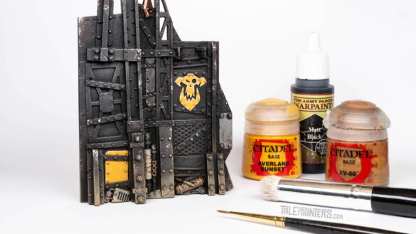 Tutorial: How to paint Ork shanty town terrain from Kill Team: Octarius, featured image