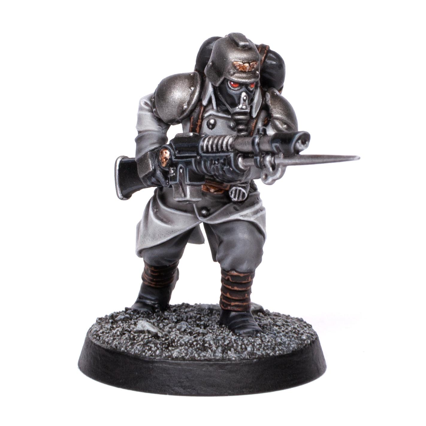 Death Korps of Krieg Trooper painted by Stahly