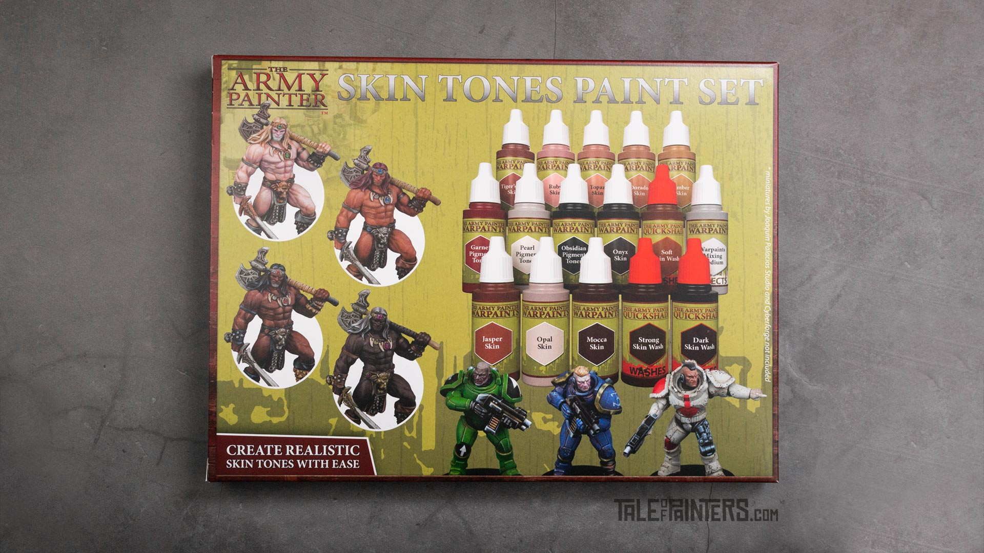 Review: The Army Painter Skin Tones paint set