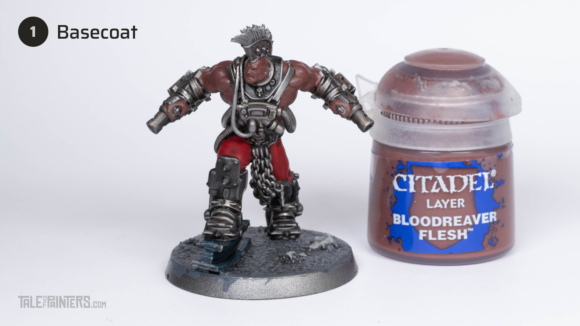 Tutorial: How to paint dark skin (Goliath Stimmer) - step 1
