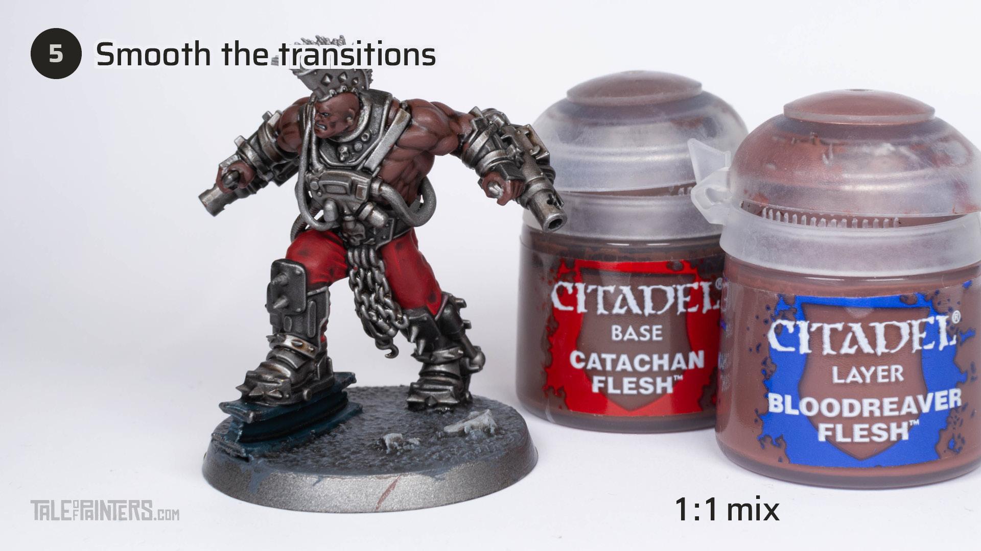 Tutorial: How to paint dark skin (Goliath Stimmer) - step 5