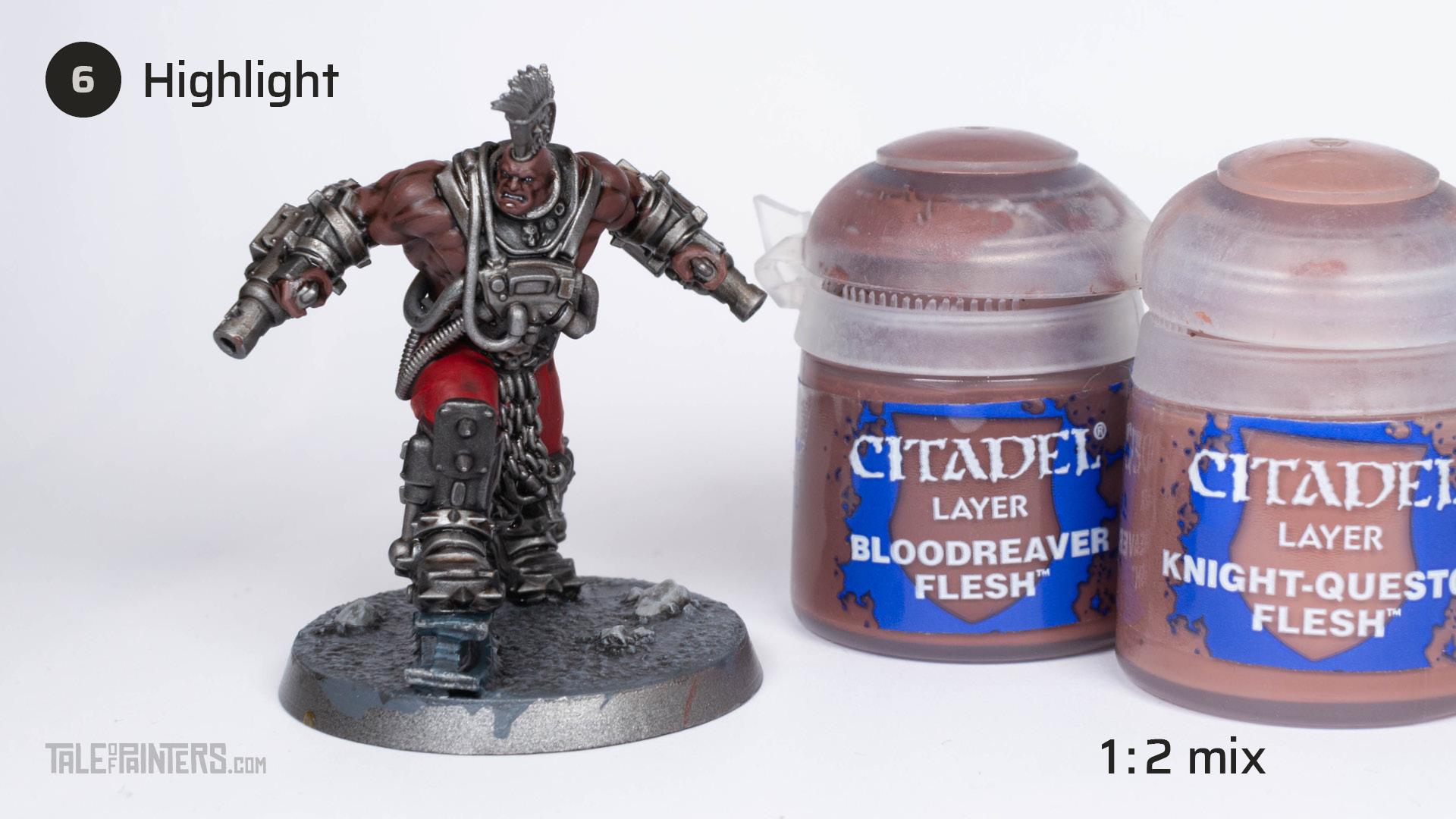 Tutorial: How to paint dark skin (Goliath Stimmer) - step 6