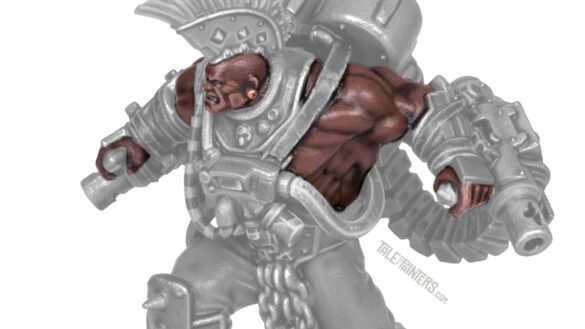 Tutorial: How to paint dark skin (Goliath Stimmer) - featured