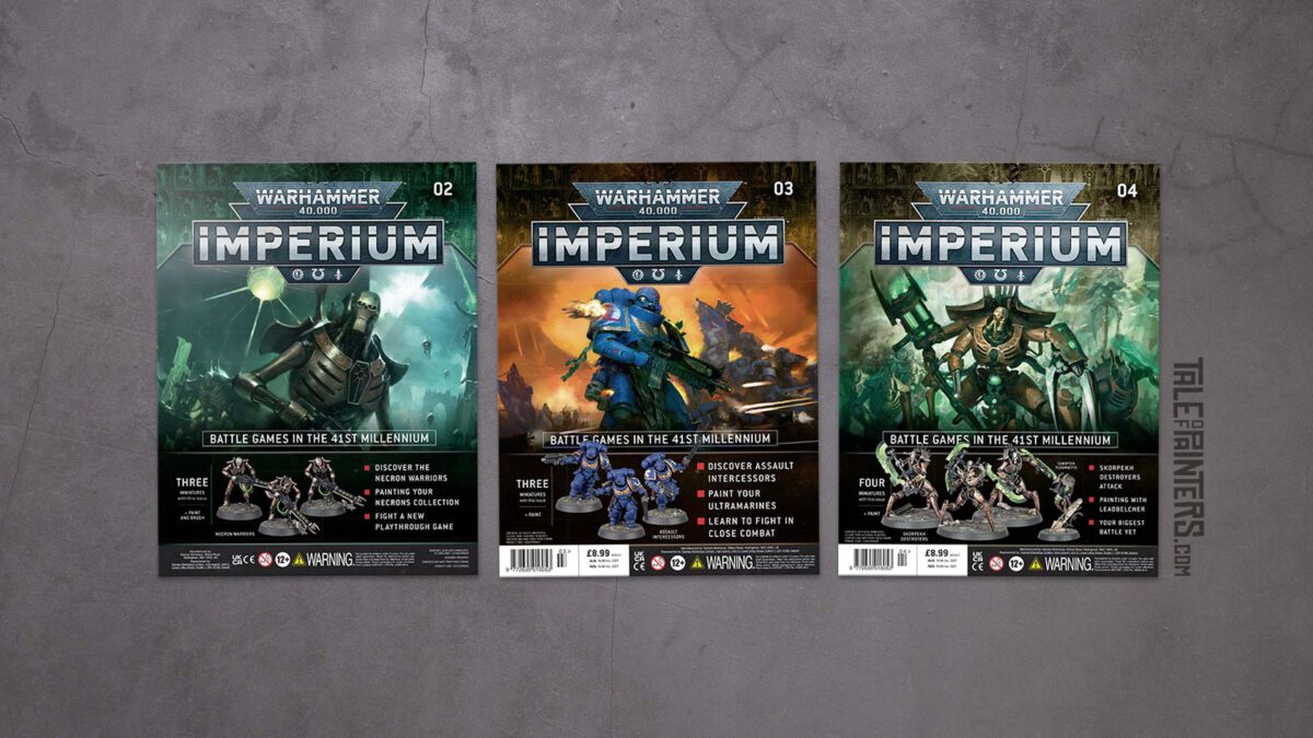 Review: Warhammer 40.000: Imperium Issues 2, 3, and 4 featured image