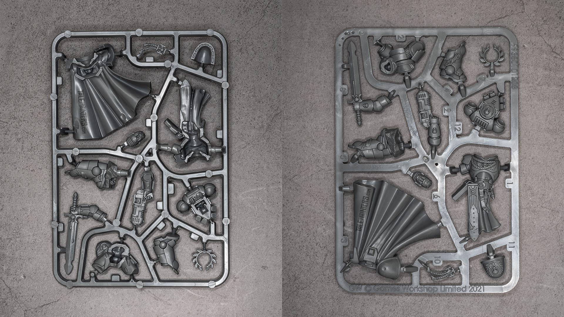 Warhammer 40.000: Imperium Issue 5 Sprues
