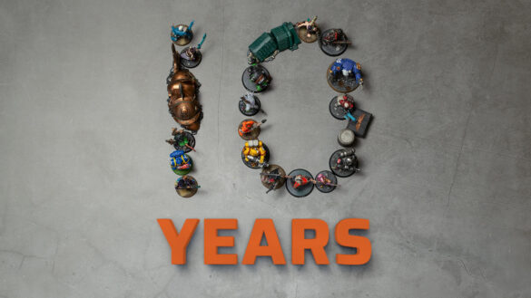 10 years Tale of Painters