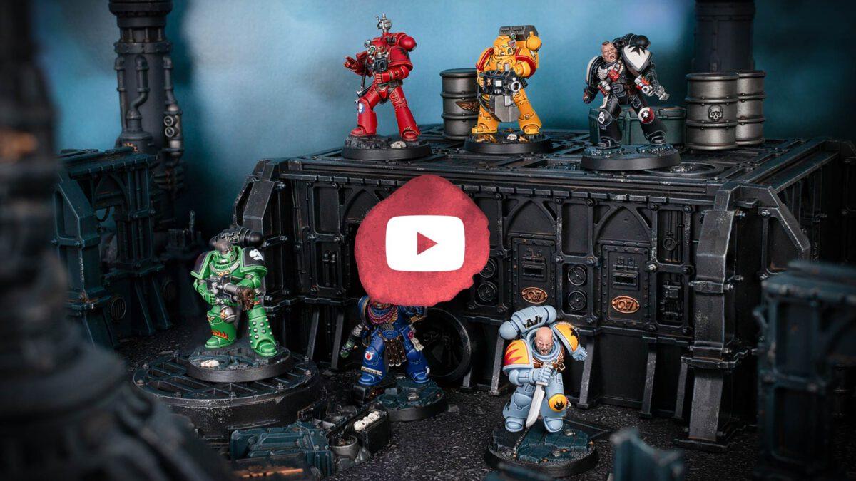 Now on YouTube: Space Marine Heroes Series 1 Showcase
